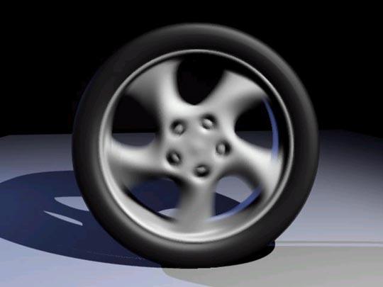 Как сделать крутящиеся колеса в фотошопе