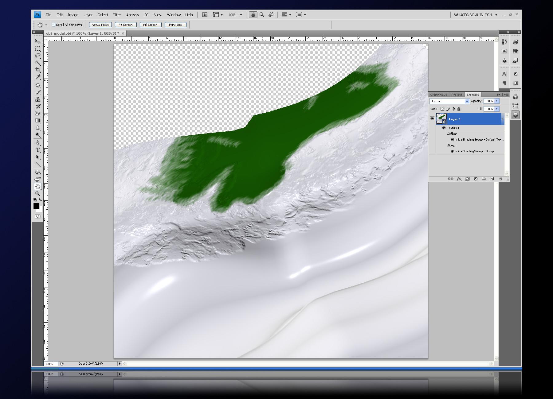 Как развернуть лист в фотошопе
