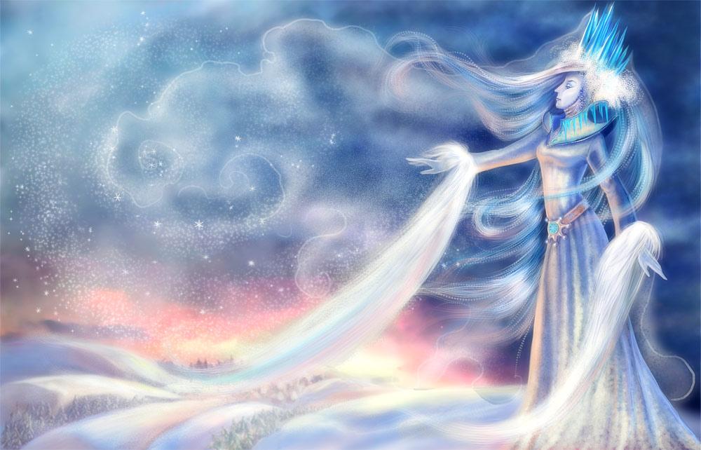 нарисовать иллюстрацию к сказке спящая царевна