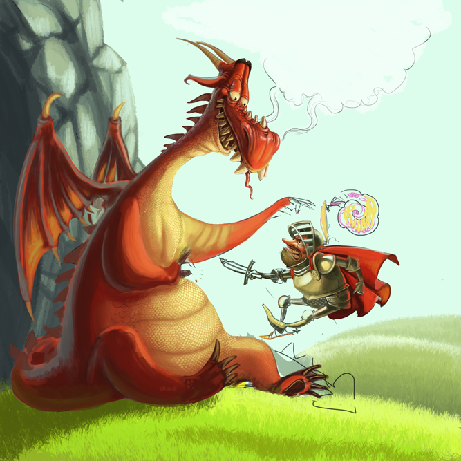 Красивые необычные, картинки с прикольными дракончиками