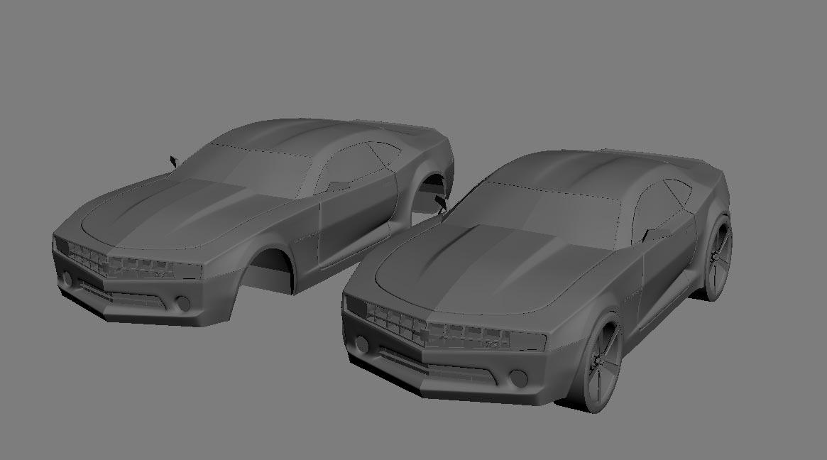 3D Модель Робота Трансформера