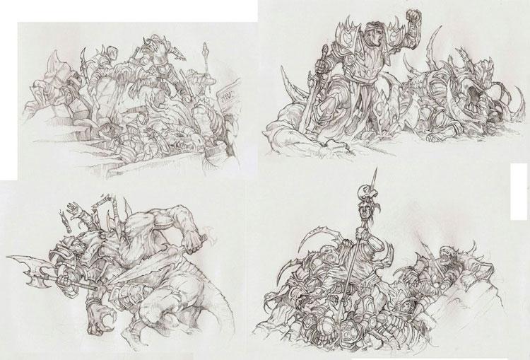 Рисунок карандашом про семью