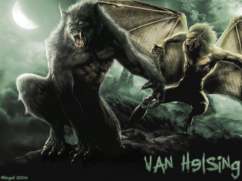 van helsing dracula wolf - Hugh Jackman Film Posterleri