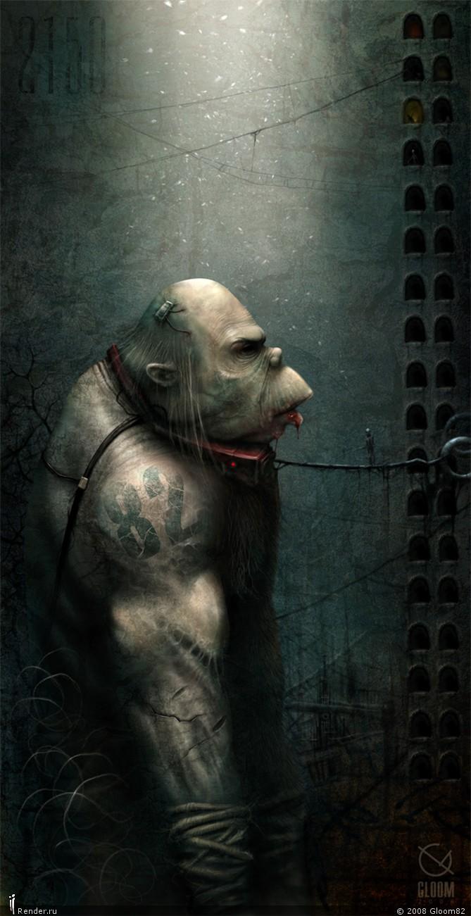 Самые мрачные художники современности 12 часть. Антон Семенов