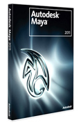 Autodesk Maya box shot