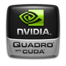 NVIDIA Quadro with CUDA Logo