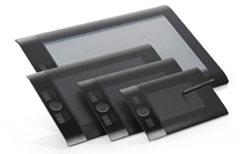 Новое поколение профессиональных планшетов серии Intuos4 от Wacom