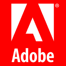 Adobe Logo Red