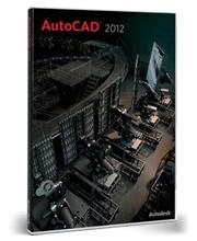 Autodesk AutoCAD 2012 box shot
