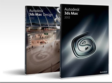 3ds Max 2012 line header