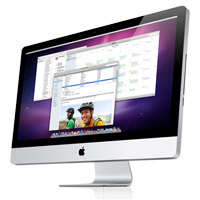 Aplle iMac 2011 lineup header