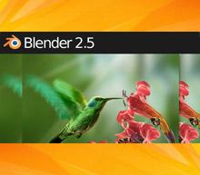 Blender 2.5 header