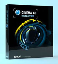 Cinema 4D R12 Visualize boxShot