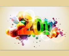 New Yaer 2011 header