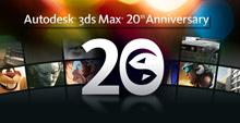 Autodesk 3ds Max 20th Anniversary