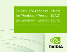 NVIDIA GeForce ForceWare Driver 257.21