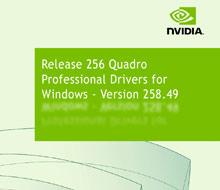 NVIDIA Quadro Driver 258