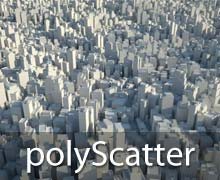 polyScater for Maya header