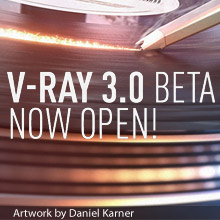 V-Ray 3.0 beta open