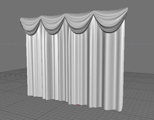 Уроки cinema4d делаем шторы в cinema 4d