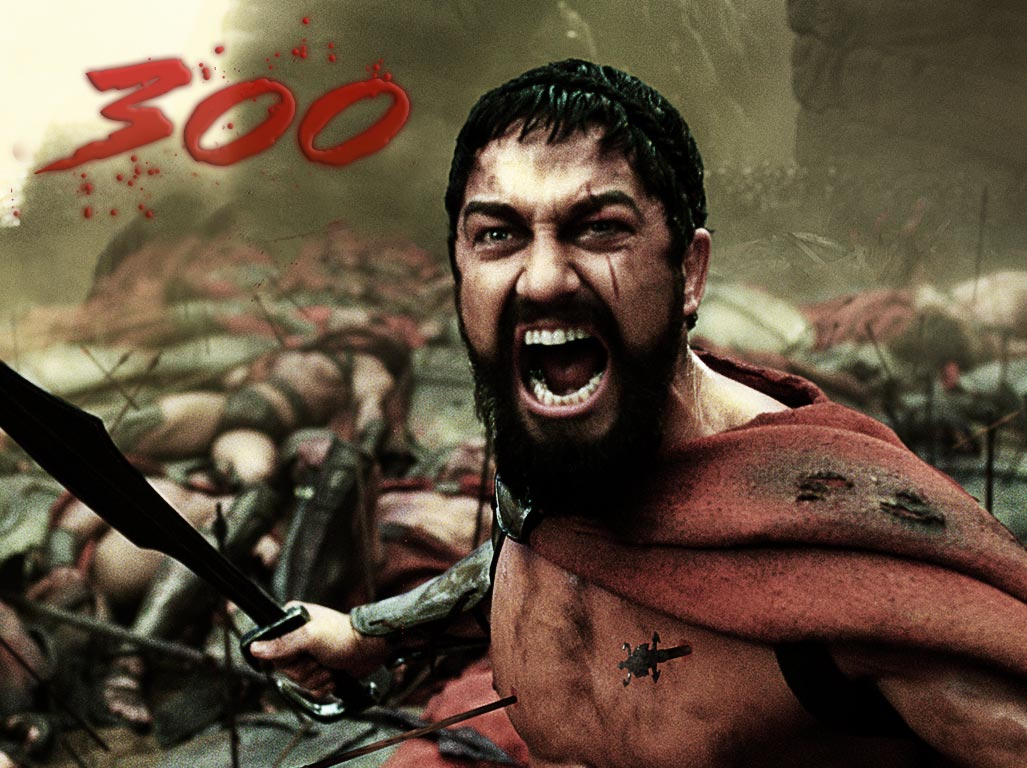 The 300 movie photoshop