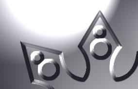 Изображения логотипа после применения преобразования Levels