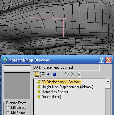 Texture displacement maps
