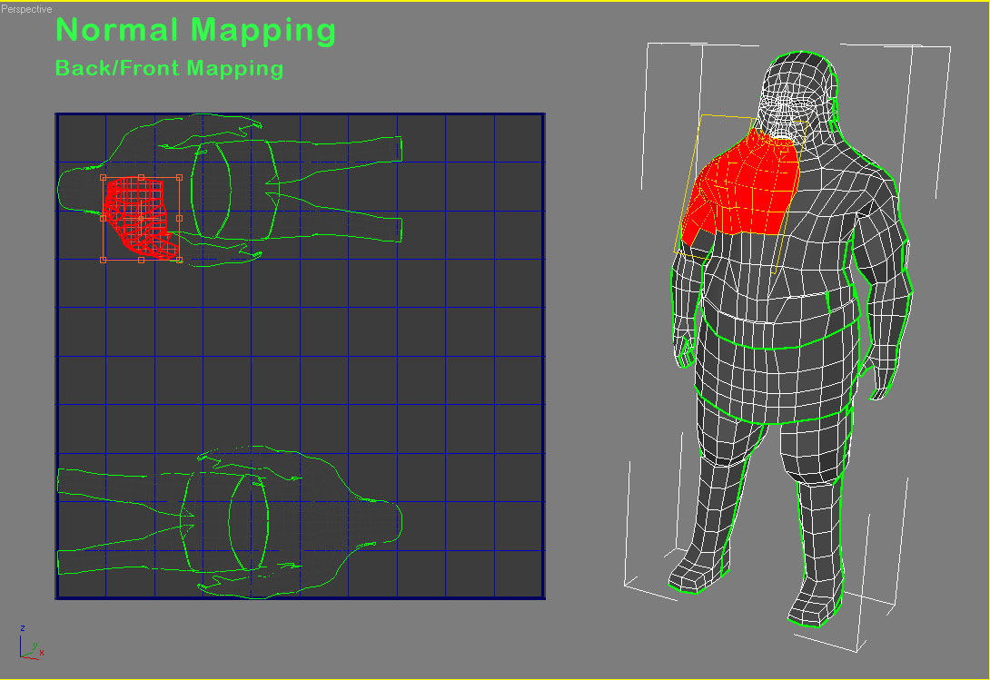 наложение текстуры в 3d max: