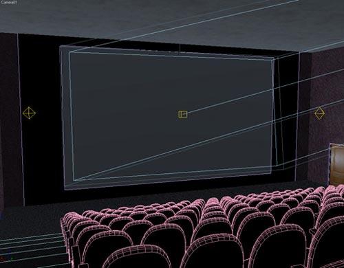 Уроки 3ds max 3d кинотеатр с настоящим
