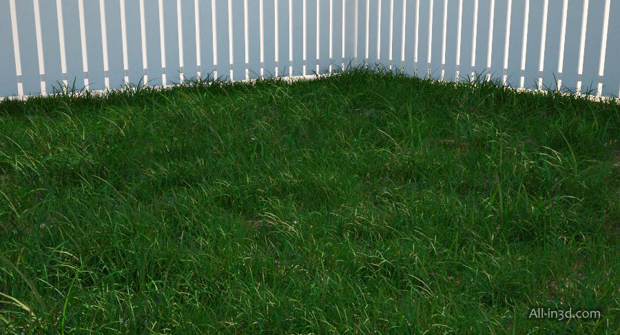 3ds max как создать траву