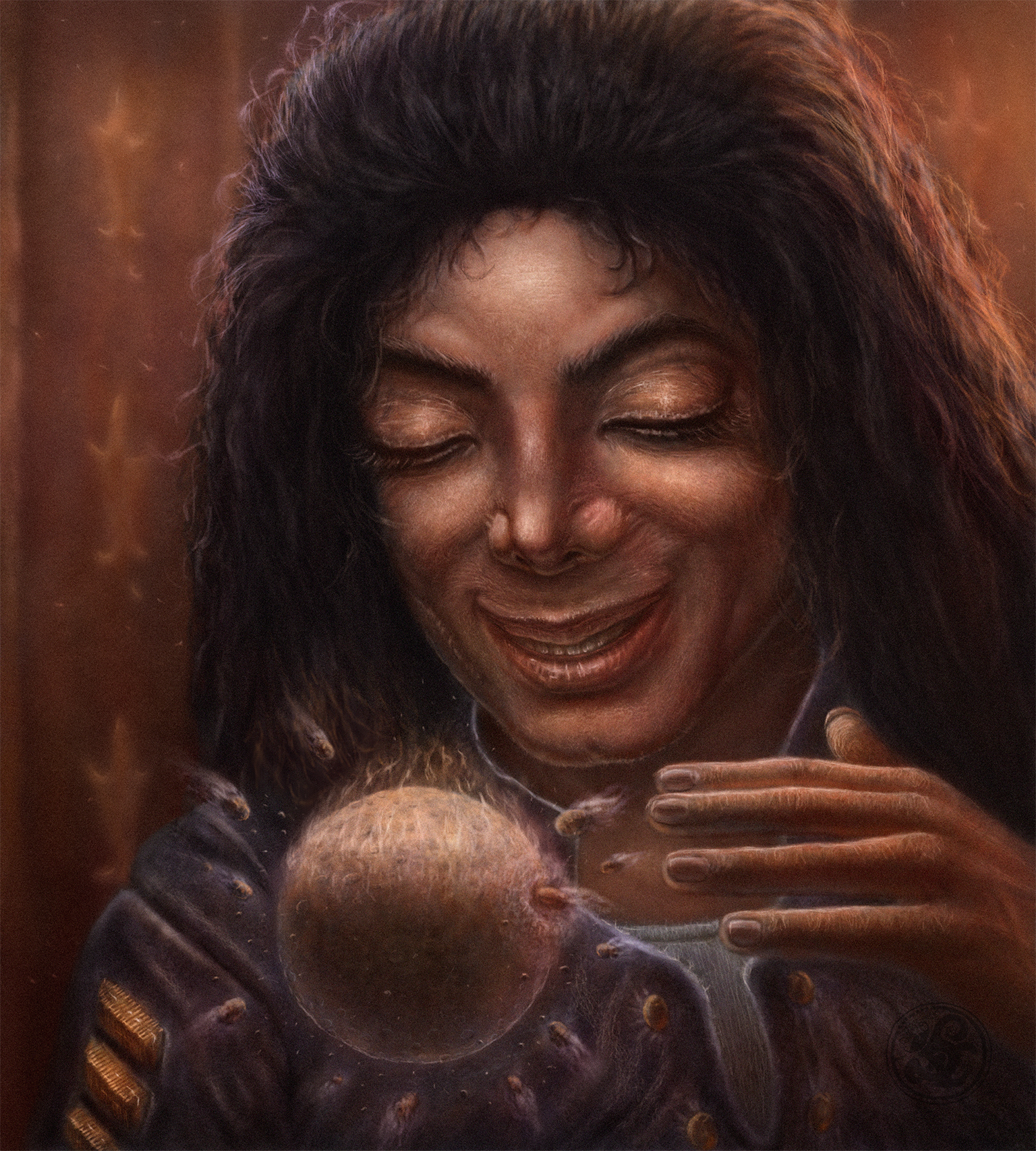 Майкл и луна ( 2016 год. ).jpg