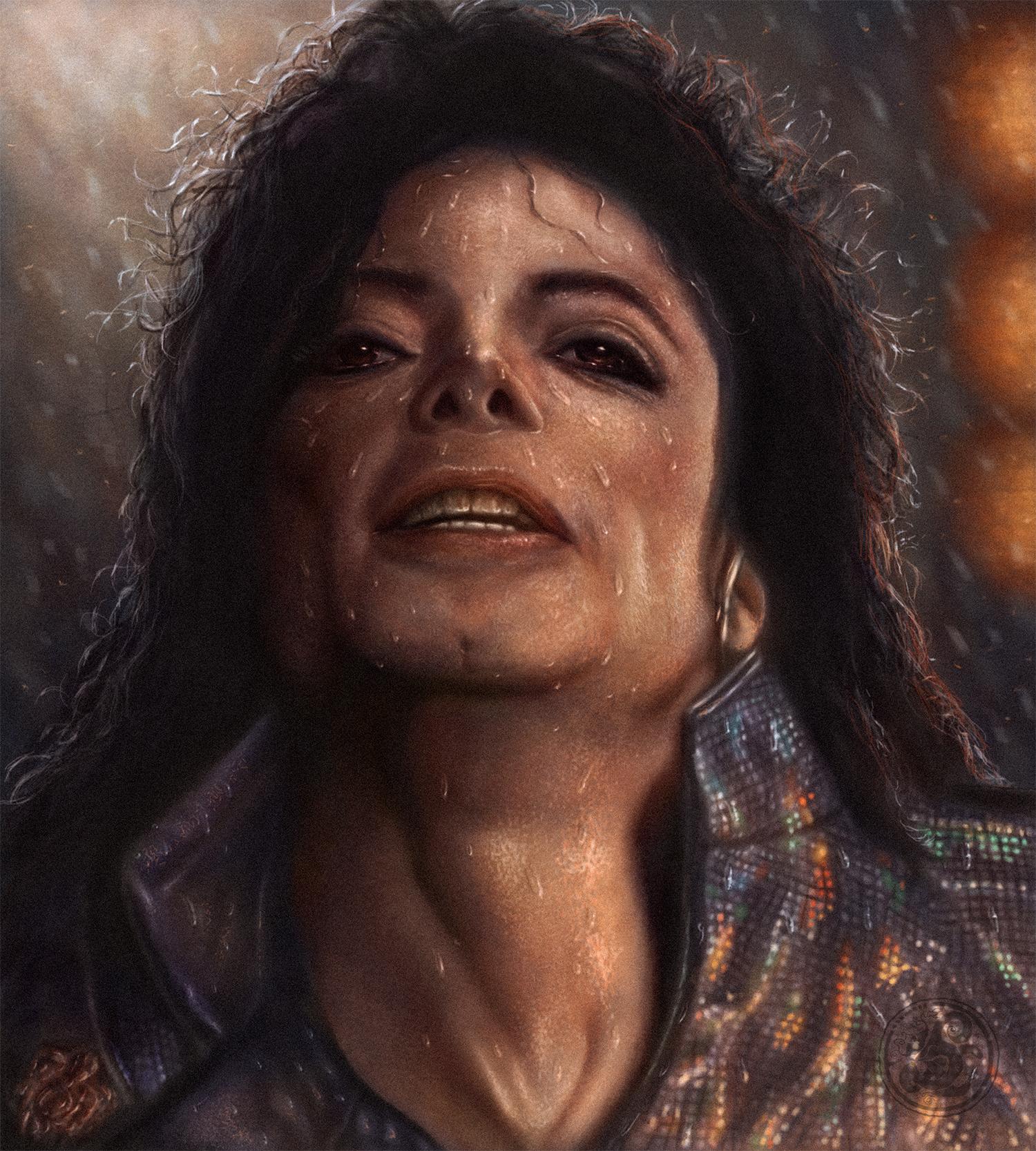 Майкл под дождём ( 2016 год. ).jpg